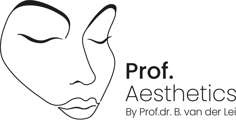 Logo Prof. Aesthetics kliniek voor correcties en verjonging, fillers en botox Groningen